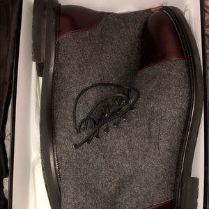 Taft boot men's size 11 (45) Grey/Oxford blood